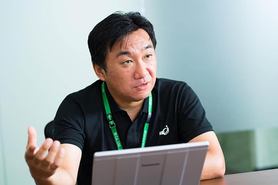 株式会社アール・アイ 小川 敦代表取締役