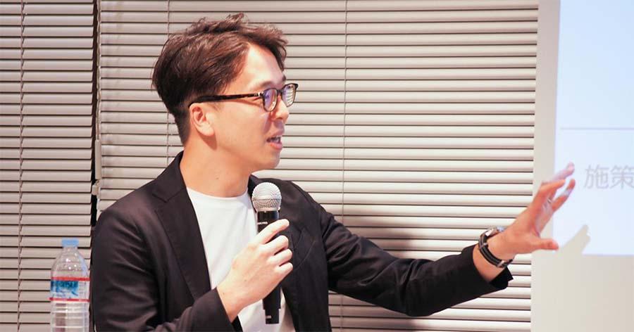 コーポレート色をあえて隠すコーポレートブランディングもある、と川田氏