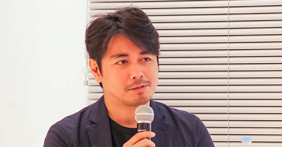 サイボウズ社のコーポレートブランディングは、当初は新規顧客獲得を目的に始まったと語る、大槻氏