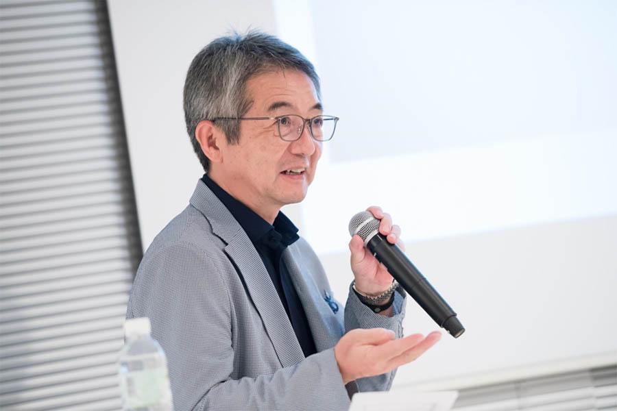 V字回復の秘訣を話す、スタジオアルタ嶋田氏