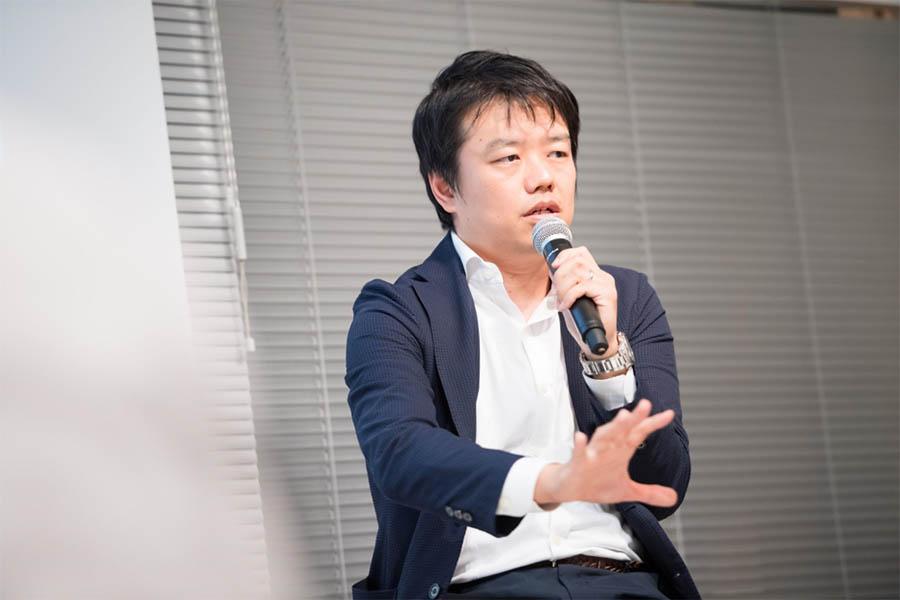 プロ人材の視点からプロジェクト成功の秘訣を話す武下氏